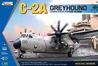 Kinetic 1/48 scale K48025 C-2A Greyhound plane model kit 2019 new