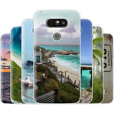 Dessana Bahamas TPU Silicone Protective Cover Phone Case Cover For LG
