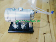 Hot Live Steam Engine Cylinder Unibody Design education Toy Model GL-001 G