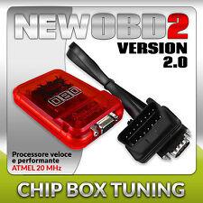 OBD2 Centralina Aggiuntiva Nissan Qashqai 1.6 117CV Benzina Chip Tuning Box v2