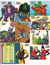 Marvel: The Silver Age Complete Set  (100 Cards)      1998 Fleer/ Skybox