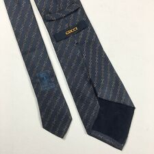 Men's Gucci Tie Silk Casual Italy Blue