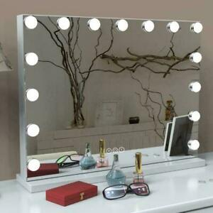 LED Hollywood Dressing Table Makeup Mirror Vanity Lighted Cosmetic Dimmable Bulb