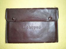 ORIGINALE Militare pass GUSCIO Wehrmacht HEER WH 2wk 2ww XX pass tessera Passaporto militare GUSCIO