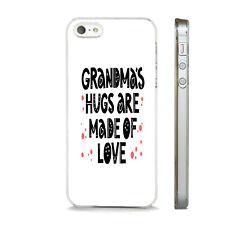 Las abuelas abrazos están hechos de amor nuevo teléfono caso tapa se ajusta APPLE IPHONE modelos.
