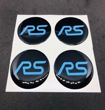4x Ford Focus RS MK2 und ST MK2 Nabendeckel Felgendeckel freie Farb- +Größenwahl