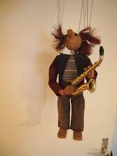 Marionette Saxophonspieler