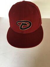 681d982e Trucker Baseball Hat Arizona Diamondbacks Logo on Front Fitted 7 1/2