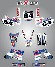 Yamaha YZ 450 F - 2003 - 2005 Full  Custom Graphic  Kit -AUSSIE PRIDE - stickers