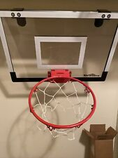 indoor basketball hoop. Never used. Free ups 2-3 day shipping