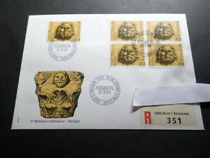 Switzerland Helvetia, 1983, FDC 1° Day Recommend' Stamp 1185 Octodurus, 2°