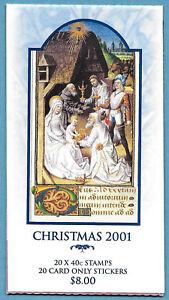 Australian 2001 Christmas Booklet Stamp MNH BAB160