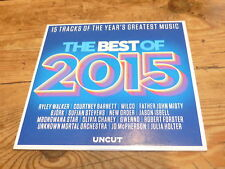 VARIOUS - UNCUT THE BEST OF 2015 !!!!!!!!!!! RARE CD PROMO