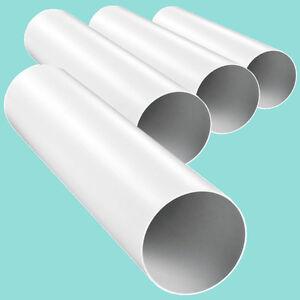 Lüftungsrohr Luftkanal Rundkanal Abluftrohr Abluftkanal Rundrohr Rohrleitung PVC