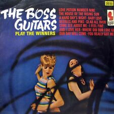 THE BOSS GUITARS Play The Winners LP