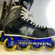 Mission Proto Si Violator (3.3) Inline Hockey Skates Roller Blades Adult Sz 11D