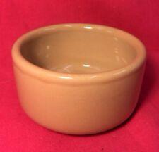 Hamster Bowl Pot Ceramic 3 1/4 Inch Mice Gerbil Rat Chinchilla Brown