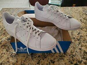 Adidas Stan Smith Lace Up  Mens  Sneakers - Size 12 - All White !!!