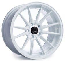 Cosmis Racing R1 18x10.5 5x114.3 ET30 White Rims (Set of 4)