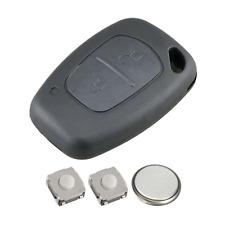 2 Button Remote Key Fob Case Repair Kit for Renault Traffic Vivaro Master Kangoo