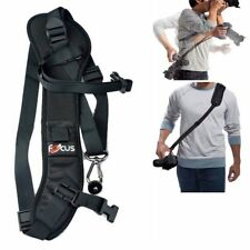 Focus F-1 Long Neck Sling Shoulder Belt Camera Strap Quick Rapid Capture Top