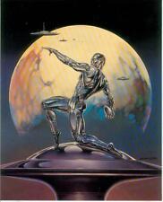 Boris Vallejo postercard: discus Throw (estados unidos, 1992)