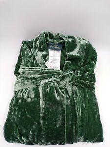 Pottery Barn Teen Harry Potter Slytherin Velvet Robe Large X Large Green #3667