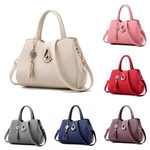 Womens Hobo Bag Business PU Leather Shoulder Bag Tote Messenger Handbag Satchel