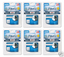 Brother TZ135 PTouch Label Tape P-Touch TZ-135 (6) PACK