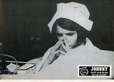 DIANE VARSI JOHNNY GOT HIS GUN DALTON TRUMBO 1971 VINTAGE PHOTO LOBBY CARD N°2