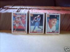 1991-1992 Topps Baseball pick 40 comp.your set ex- nrmt plus 1991 topps traded
