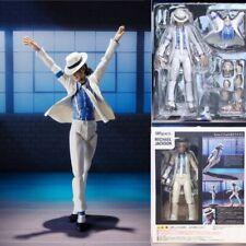 MICHAEL Jackson Figure Smooth Criminal Moonwalk Action Model Toy Doll Gift