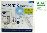 Waterpik Evolution WF-07W010 & Nano WP-310 Water Flosser Combo PK 5978082 SEALED