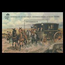 Austria 2008 - Mail Coach Painting Fine Art Horse Transport - Sc 2172 MNH