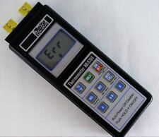 Delta OHM Thermometer HD 8704 and Probe Padova ITALY Thermocouple Type K