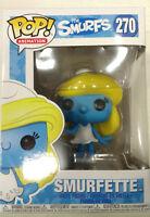 FUNKO POP Animation Series: the Smurfs; 270: Smurfette DAMAGED BOX
