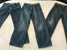 Boy's LEVI'S denim jeans lot sz 14 Reg! Good condition!