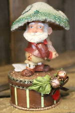 Katherine´s Collection Pilz Waldmännchen Gnom Troll Box Herbst Weihnachten NEU