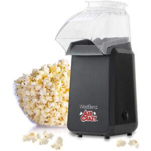 West Bend 82418Bk Crazy Popper Pops Popcorn Using Hot Air 4-Quart Black