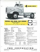Truck Brochure - FWD - SP8 - WAK Gas series - 4WD Snow Plow Special (T1692)