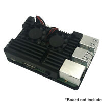 Aluminum Radiator Protection Case For RaspberryPi 3B+3B 2B Metal Cooling SheNIU