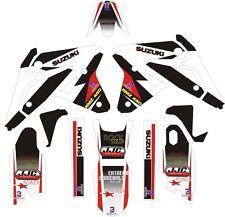 Graphics for 2007 Suzuki RMZ 450 RMZ450 Decals Shrouds Rear fender Sticker