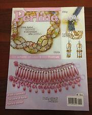 R25  Perline anno VI n.25 - anelli a tessuto con perle di fiume- schemi