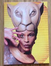 4x LION KING West End London producation postcard set - Lyceum Theatre