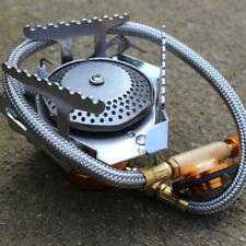 3500W Portable Gas Stove Butane Propane Burner Fit for Outdoor Camping Hiking