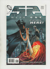 52 Week #1 - Signed By Keith Giffen - (Grade 9.2) 2006