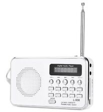 ds Radio Portatile L-938 Digitale Fm Lettore Mp3 Sd mmc Tf Ingrsso Aux Linq