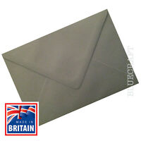 "50 pack x C6 Platinum Grey Premium 100gsm Envelopes  114x162 mm - 6 x 4"" approx"