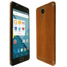 Skinomi Light Wood Skin+Clear Screen Protector for BLU Life One X2