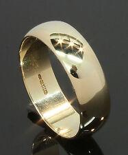 9 Carat Yellow Gold Wedding Ring 5.9mm Size Q 9CT (80.17.290)